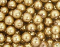 Glass pearl beads 10mm